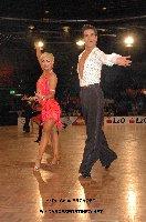 Jurij Batagelj & Jagoda Batagelj at IDSF European Latin Championship 2009