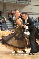 Sergio Costa & Ana Rita Almeida at 2012 WDSF EUROPEAN DanceSport Championships Standard