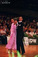 Isaia Berardi & Cinzia Birarelli at German Open 2005