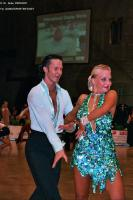 Andrew Cuerden & Hanna Haarala at German Open 2005