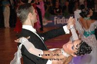 Valerio Colantoni & Yulia Spesivtseva at German Open 2010