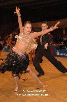 Marius-Andrei Balan & Nina Bezzubova at 51st City of Gold Cup