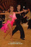 Roman Chetvergov & Alena Estrina at 51st City of Gold Cup