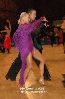 Jan Albeck & Zsofia Garbe at 51st City of Gold Cup