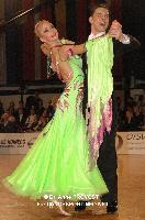 Vladislav Korotchenko & Olga Gandembul at Austrian Open Championships 2011