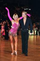 Peter Stokkebroe & Kristina Stokkebroe at ARD Masters Gala 2004 - Essen