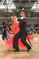Andre Branco & Daniela Santos at 2012 WDSF EUROPEAN DanceSport Championships Standard
