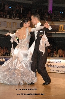 Victor Fung & Anna Mikhed at World Professional Standard Championship