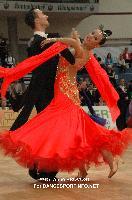 Paolo Campigotto & Alina Daniela Petre at 2012 WDSF EUROPEAN DanceSport Championships Standard