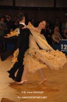 Benedetto Ferruggia & Claudia Köhler at Goldstadtpokal 2011