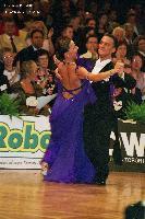 Benedetto Ferruggia & Claudia Köhler at German Open 2005