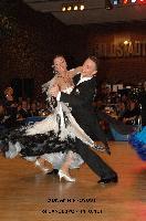 Benedetto Ferruggia & Claudia Köhler at 49. Goldstadtpokal