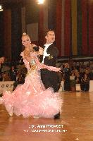 Paolo Bosco & Joanne Clifton at Austrian Open Championships 2011