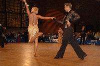 Jesper Birkehoj & Anna Anastasiya Kravchenko at 48. Goldstadtpokal