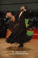 Rares Cojoc & Tatiana Timus at 2012 WDSF EUROPEAN DanceSport Championships Standard