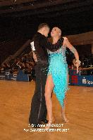 Abylaykhan Akkubekov & Yelena Borovskaya at 51st City of Gold Cup