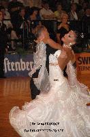 Mirko Francesconi & Milena Cervelli at German Open Championships 2009