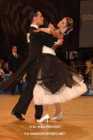 Simone Segatori & Annette Sudol at Goldstadtpokal 2011