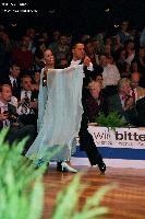 Simone Segatori & Annette Sudol at German Open 2005