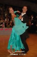 Simone Segatori & Annette Sudol at German Open Championships 2009