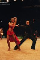 Cedric Meyer & Angelique Meyer at 7th World Games 2005