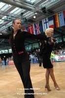 Cedric Meyer & Angelique Meyer at IDSF World Latin Championships