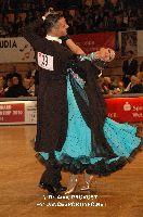 Andrea Zaramella & Letizia Ingrosso at IDSF World Standard Championships