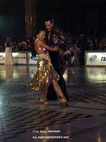 Sergey Sourkov & Agnieszka Melnicka at WDC World Professional Latin Championships 2007