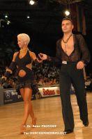 Dorin Frecautanu & Roselina Doneva at IDSF World Latin Championships