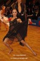 Niels Didden & Gwyneth Van Rijn at Goldstadtpokal 2011