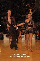Niels Didden & Gwyneth Van Rijn at Marseille IDSF Open and European Latin Championship