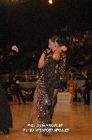 Niels Didden & Gwyneth Van Rijn at Marseille IDSF Open and European Latin Championship