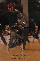 Koji Nishijima & Asumi Nishijima at WDC World Professional Latin Championships