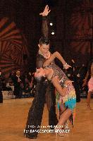 Lukas Bartunek & Katerina Hrstkova at 51st City of Gold Cup