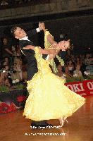 Luca Rossignoli & Veronika Haller at German Open Championships 2009