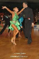 Franco Formica & Oxana Lebedew at German Open Championships 2009