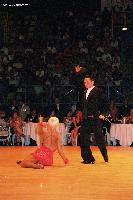 Andre Paramonov & Natalie Paramonov at WDDSC World Professional Latin Championships 2005