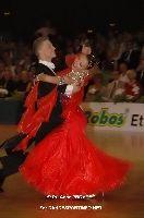 Sergei Konovaltsev & Olga Konovaltseva at German Open Championships 2009
