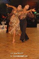 Ben Hardwick & Lucy Jones at IDSF European Latin Championship 2009