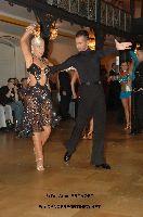 Slawomir Lukawczyk & Edna Klein at German Open Championships 2009
