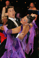 Dusan Dragovic & Ekaterina Romashkina at UK Open 2010