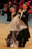 Domen Krapez & Monica Nigro at UK Open 2008