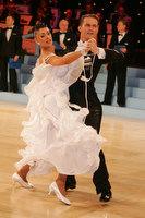 Domen Krapez & Monica Nigro at UK Open 2010