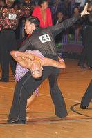 Michael Johnson & Sally Rose Beardall at The International Championships
