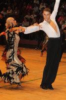 Stanislav Wakeham & Laura Nolan at The International Championships