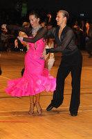 Anton Sboev & Patrizia Ranis at The International Championships