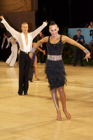 Anton Sboev & Patrizia Ranis at UK Open 2009