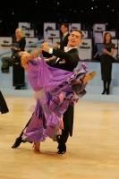 Alex Sindila & Katie Gleeson at UK Open 2008