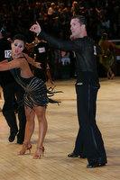 Andrej Skufca & Melinda Torokgyorgy at International Championships 2011