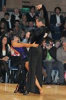Andrej Skufca & Melinda Torokgyorgy at UK Open 2010